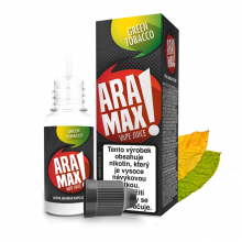 E-liquid Aramax 10ml / 18mg: Green Tobacco (Tabák)