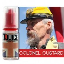 Příchuť T-Juice: Colonel Custard (Pudink) 10ml