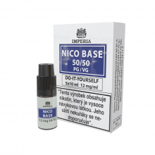 Nikotinová báze Imperia (50/50): 5x10ml / 12mg