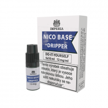 Nikotinová báze Imperia Dripper (30/70): 5x10ml / 12mg