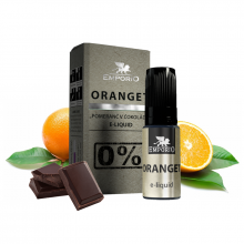 E-liquid Emporio 10ml / 0mg: Oranget