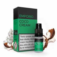 E-liquid Emporio 10ml / 6mg: Coco Cream