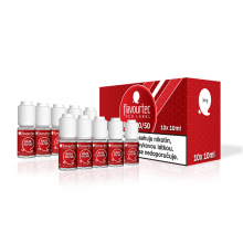 Nikotinová báze Flavourtec Red Label (50/50): 10x10ml / 3mg