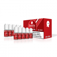 Nikotinová báze Flavourtec Red Label (50/50): 10x10ml / 12mg