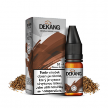 E-liquid Dekang Classic 10ml / 18mg: Gold & Silver (Tabák)
