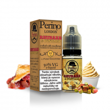 E-liquid Perino London 10ml / 12mg: Rhubarb & Custard (Rebarborový pudink)