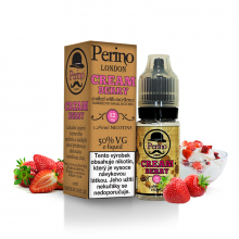E-liquid Perino London 10ml / 12mg: Cream Berry (Jahody se šlehačkou)