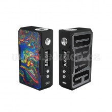 Elektronický grip: VooPoo Drag 157W Black Resin (Rainbow)