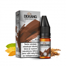 E-liquid Dekang Classic 10ml / 3mg: Gold DV Blend (Jemný cigaretový tabák)