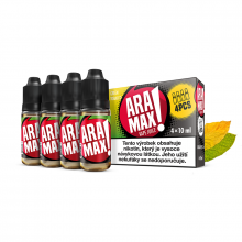E-liquid Aramax 4x10ml / 12mg: Green Tobacco (Tabák)