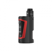 Elektronický grip: GeekVape GBOX Squonker Kit s Radar RDA (Black & Red)