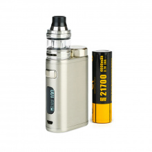 Elektronický grip: Eleaf iStick Pico 21700 Kit s ELLO (Brushed Silver)