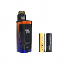 Elektronický grip: IJOY CAPO 216 SRDA Squonk Kit (6000mAh) (Orange + Blue)