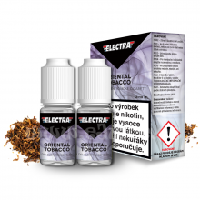 E-liquid Electra 2x10ml / 3mg: Oriental Tobacco