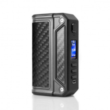 Elektronický grip: Lost Vape Therion DNA75C (Black / Carbon Fiber)