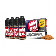 E-liquid Aramax 4x10ml / 18mg: Classic Tobacco (Tabák)