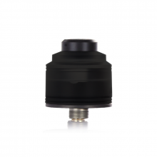 RDA atomizér GAS MODS Nixon S (Black Base / Black)