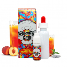 Příchuť Detonation Drip: Tasty Peach Tea (Broskvový čaj) 10ml