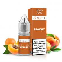 E-liquid Juice Sauz SALT 10ml / 20mg: Peachy (Broskve a meruňky)