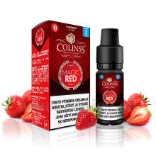 E-liquid Colinss 10ml / 6mg: Magic Red (Jahodová směs)
