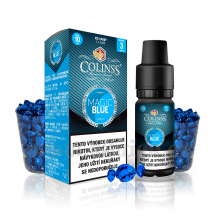 E-liquid Colinss 10ml / 12mg: Magic Blue (Ledové bonbony)