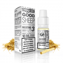 E-liquid Pinky Vape 10ml / 3mg: Good Sheep (Tabák prémium)