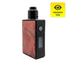 Elektronický grip: Asmodus Spruzza Squonker Kit s Oni-One RDA (Red) (II. JAKOST)