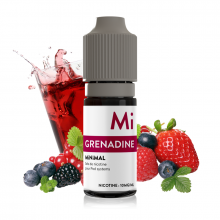 E-liquid The Fuu MiNiMAL 10ml / 10mg: Grenadine (Ovocný sirup)