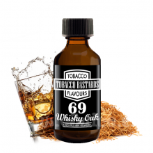 Příchuť Tobacco Bastards: No. 69 Whisky Oak (Tabák s whiskey) 10ml
