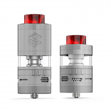 Clearomizér Steam Crave Aromamizer Plus V2 RDTA - Advanced Kit (8ml/16ml) (Stříbrný)