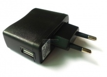 AC EURO Adapter 220V -> USB (500mA)