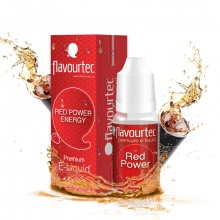 E-liquid Flavourtec 10ml / 18mg: Energy drink (Red Power)