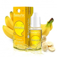 E-liquid Flavourtec 10ml / 9mg: Banán (Banana)