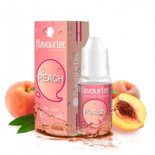E-liquid Flavourtec 10ml / 9mg: Broskev (Peach)