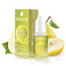 E-liquid Flavourtec 10ml / 9mg: Hruška (Sweet Pear)