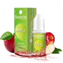 E-liquid Flavourtec 10ml / 9mg: Jablko (Apple)