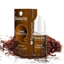 E-liquid Flavourtec 10ml / 0mg: Dark Tobacco (Silný tabák)