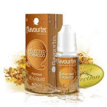 E-liquid Flavourtec 10ml / 3mg: Selected Tobacco (Tabák)