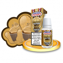 E-liquid American Stars 10ml / 9mg: Peanut Butter Cup