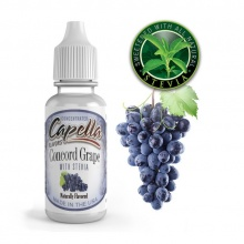 Příchuť Capella: Hroznové víno se stévií (Concord Grape with Stevia) 13ml