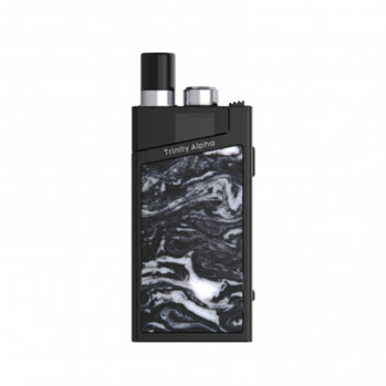 Elektronická cigareta: SMOK Trinity Alpha Resin Pod Kit (1000mAh) (Bright Black)