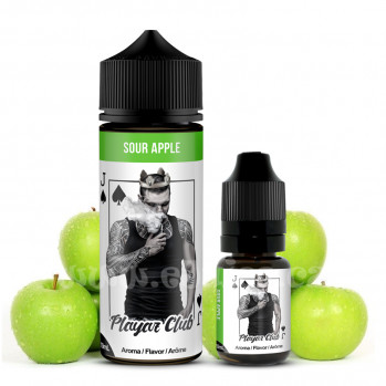 Příchuť Playaz Club: Sour Apple (Zelené jablko) 10ml