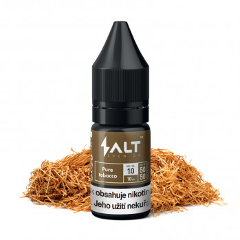 E-liquid Salt Brew Co 10ml / 10mg: Pure Tobacco (Tabáková směs)