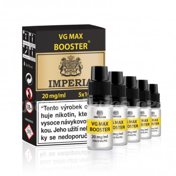 Booster báze Imperia VG Max (0/100): 5x10ml / 20mg