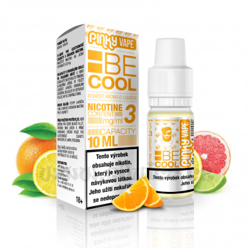 E-liquid Pinky Vape 10ml / 12mg: Be Cool (Citrus mix)