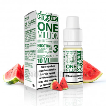 E-liquid Pinky Vape 10ml / 12mg: One Million (Meloun)