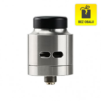 RDA atomizér Wismec Guillotine (Black Stainless Steel) (II. JAKOST)