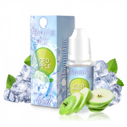 E-liquid Flavourtec Ice 10ml / 3mg: Ledové jablko (Iced Apple)
