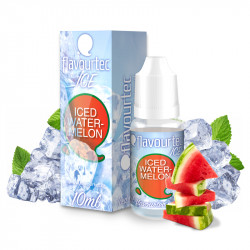 E-liquid Flavourtec Ice 10ml / 3mg: Ledový meloun (Iced Watermelon)