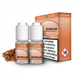 E-liquid Ecoliquid Double Pack 2x10ml / 12mg: ECOCAM